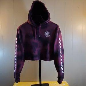 VANS Crop Sweatshirt Hoodie